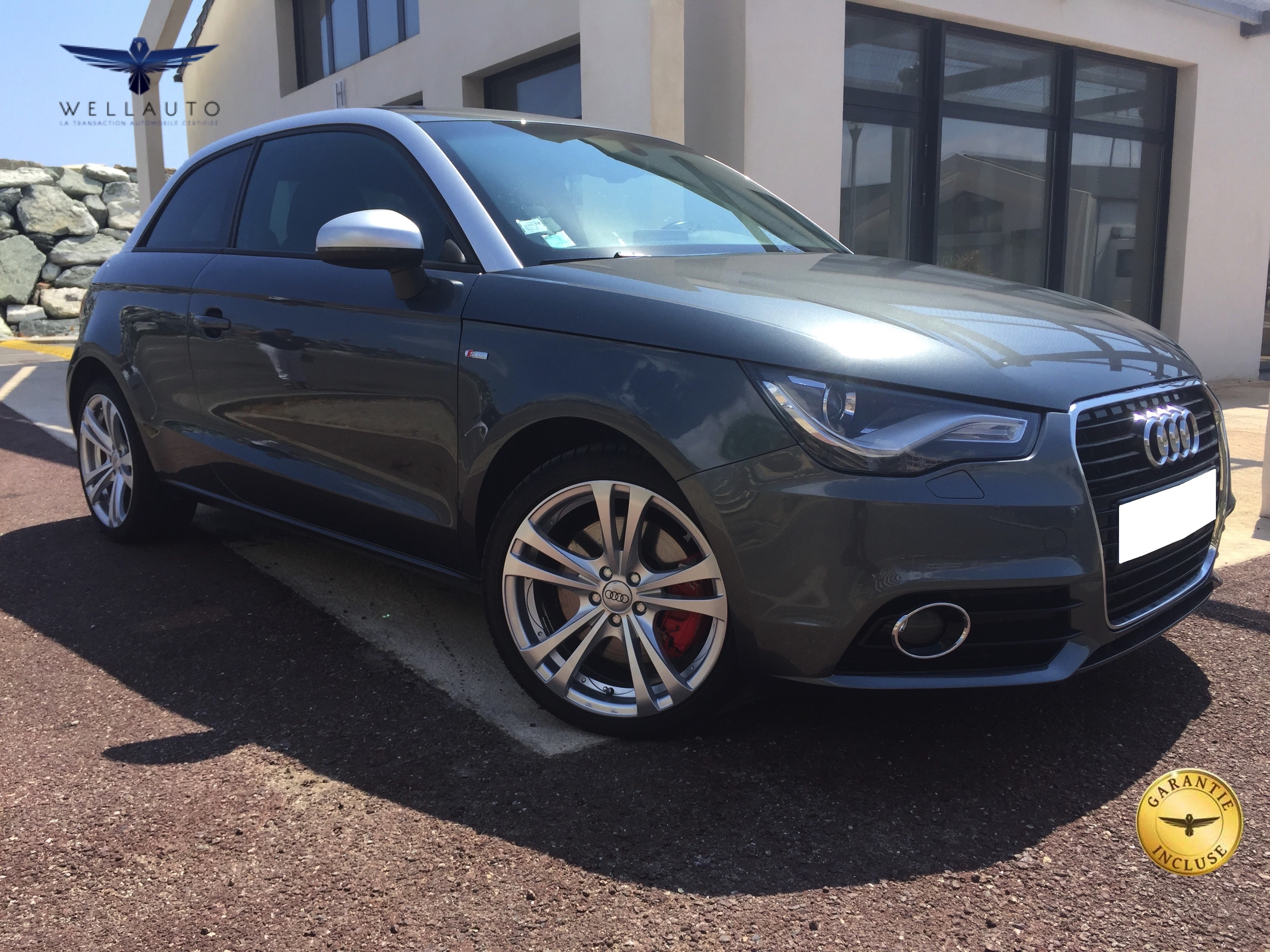 voiture audi a1 2 0 tdi 143 s line occasion diesel 2012 53000 km 15890 ville di. Black Bedroom Furniture Sets. Home Design Ideas