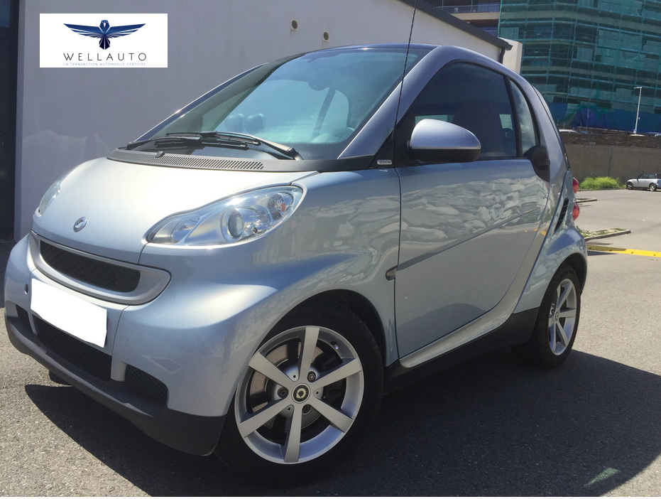 voiture smart fortwo smart coupe 1 0 71ch limited two occasion essence 2009 55000 km. Black Bedroom Furniture Sets. Home Design Ideas