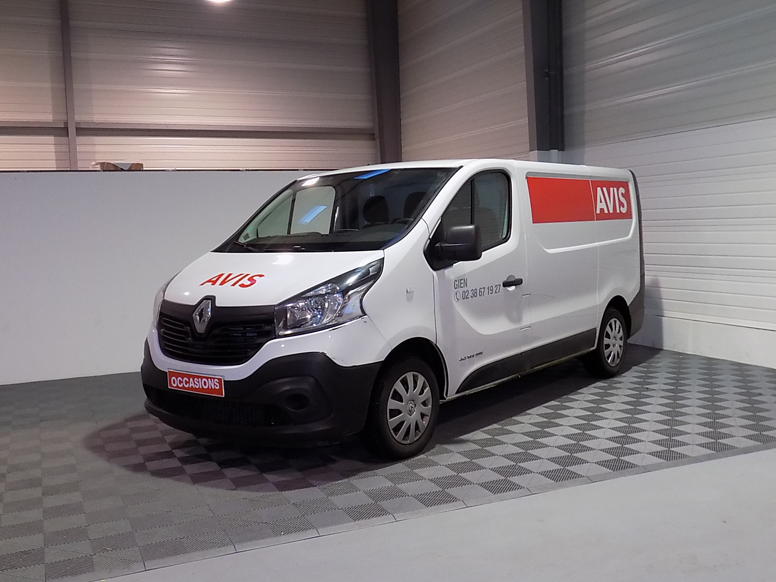 RENAULT TRAFIC FOURGON FGN L1H1 1200 KG DCI 125 ENERGY E6 GRAND CONFORT d'occasion