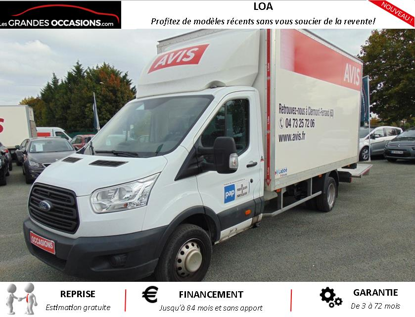 FORD TRANSIT CHASSIS CABINE P350 L5 RJ 2.2 TDCI 125 AMBIENTE d'occasion