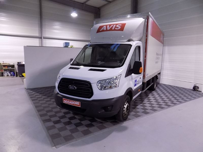 FORD TRANSIT 2T CCB T350 L4 2.2 TDCI 125CH AMBIENTE d'occasion