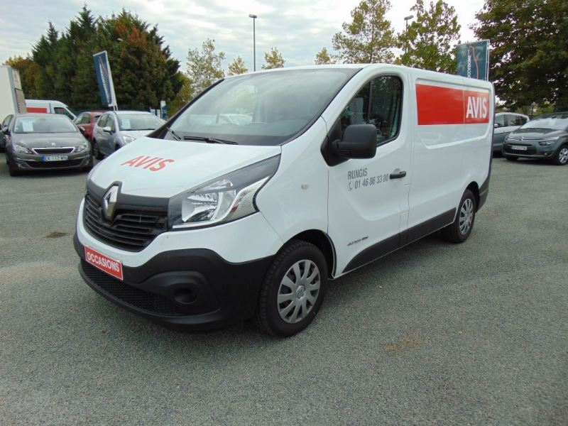 RENAULT TRAFIC III FG L1H1 1200 1.6 DCI 120CH GRAND CONFORT EURO6 d'occasion
